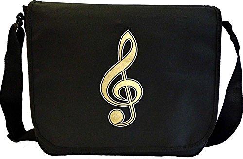 Music Notation Treble Clef - Sheet Music Document Bag Musik Notentasche MusicaliTee