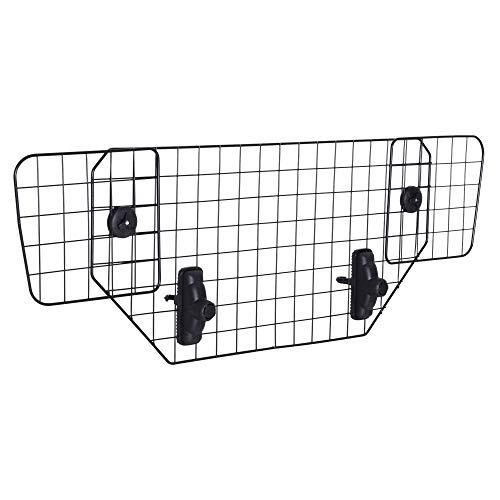 Pawhut Rejilla Separador Perro Coche Extensible Universal Reja de Seguridad Barrera para...