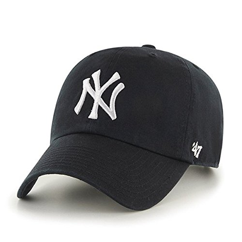 47 Brand MLB New York Yankees Clean Up Cap - Black