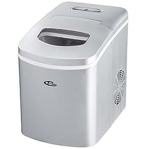 TecTake Professionnelle machine à glaçons appareil de préparation de glace argent neuf