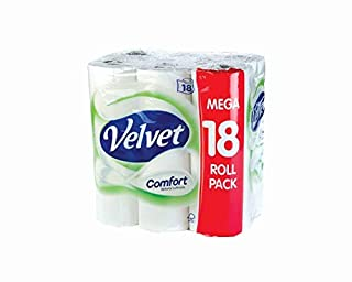 Velvet Comfort Toilet Roll (Pack of 18) KSCATV18 (B0031YFF5C) | Amazon price tracker / tracking, Amazon price history charts, Amazon price watches, Amazon price drop alerts