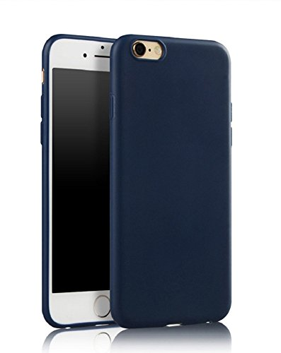 Demarkt Coque For iPhone 6s, protecteur Ultra Léger Ultra Mince Anti-Rayures Anti-dérapante Silicone En Gel Souple Housse Protection Coque Bleu Foncé IPhone 6Plus/6s Plus 1PC Bleu Foncé 7P