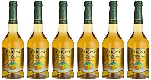 Choya Original japanischer Pflaumenwein (Weinhaltiges Getränk, Ume Frucht, fruchtig, süß, 10% vol.) 6er Pack (6 x 0,5 l)