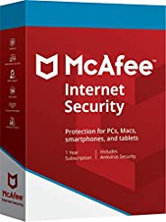 McAfee Internet Security 2019 Product key 1PC/Mac 1 Year