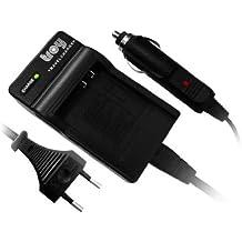 Cargador, coche-Cable de carga para Fuji FinePix F402 F455 F460 F470F480 F610 F650 F700 F710 F810 F811 V10 Z1 Z2 Z3 Z5fd Samsung Digimax i5 i6 i50 MP3 L50 L60 L73 L80L700 Samsung i70 NV3 NV7 OPS NV10 Medion MD 85416 JAY-tech WGL-0101 cámaras