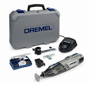 Dremel 8200-2/45 Cordless Multitool Li-Ion (10.8 V), 2 Attachments, 45 Accessories