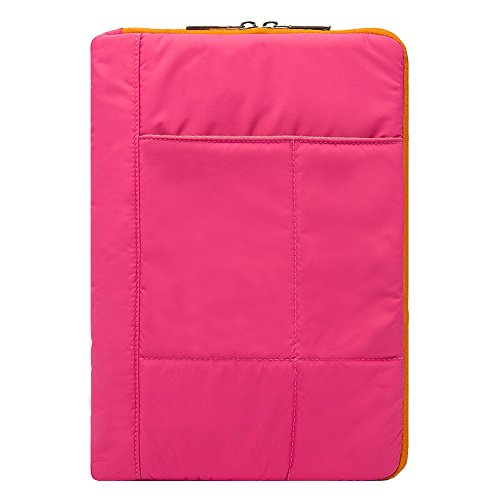 Bequem gesteppt Sleeve Cover Schutzhülle für Acer Switch/Iconia One/Iconia Tab/Iconia A/Aspire Schalter rosa rose 10 Zoll (25,4 cm) (Gesteppte Notebook-tragetasche)