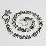 Gulunmun Würgehalsbänder 5.0Mm Edelstahl Für Hunde Starke Schlangenkette Für Hunde Groß Mittel Klein(60Cm * 5,0Mm)