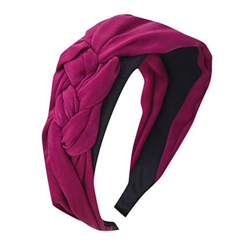 Kopfband Haarspange Fliege Schleife für Damen Damen Kostüm Accessoires Haar-Riegel-Torsion-Bogen-Stirnband-Schal-Verpackungs-Haar-Zusatz Hairband 1920s Stirnband ()