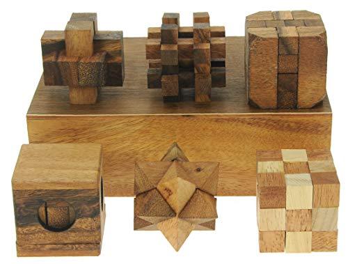 Namesakes 3D Puzzles (Set of 6) Coffret Cadeau - Jeux de...