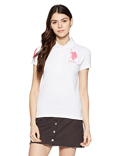 US Polo Association US Polo Women's Band Collar T-Shirt