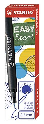 Patrone zum Nachfüllen - STABILO EASYoriginal Refill - medium - 3er Pack - Schreibfarbe blau (löschbar)