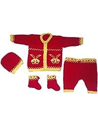 Handmade Woollen Sweater Pant set (0-9 month baby)