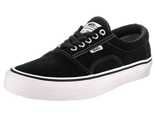Herren Skateschuh Vans Rowley Solos Skate Shoes Black White Pewter