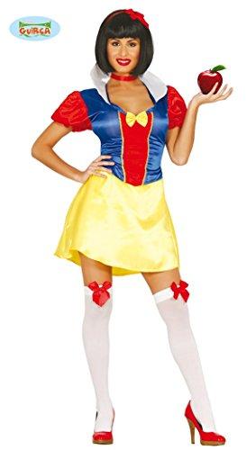 Schneewittchen Sexy Kostüm Märchen - sexy Schneewittchen Karneval Fasching Party Kostüm für Damen Märchen Gr. M - L, Größe:M