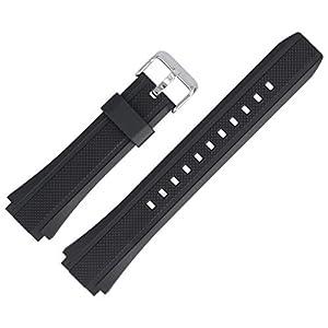 Casio Uhrenarmband Ersatzband 20 mm Kunststoff Schwarz – EF-552