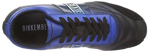 Bikkembergs 641125, Baskets Basses Mixte Adulte Noir (schwarz/blau)