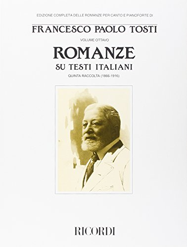 Romanze su testi italiani -V (1866-1916) chant