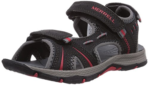 merrell-panther-sandali-da-arrampicata-bambino-multicolore-black-red-38-eu