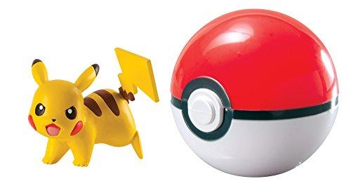Tomy Pokémon - T18759 - Coffret Clip 'n' Carry - Pikachu + Poké Ball