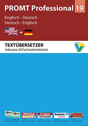 PROMT Professional 19 Englisch-Deutsch