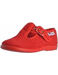 Studio De Chaussures - Pantoufles À La Maison Pour Les Filles, Rouge, Taille 30 Eu