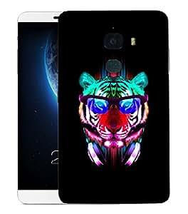 Snoogg Dj Tiger Designer Protective Back Case Cover For LETV LE MAX