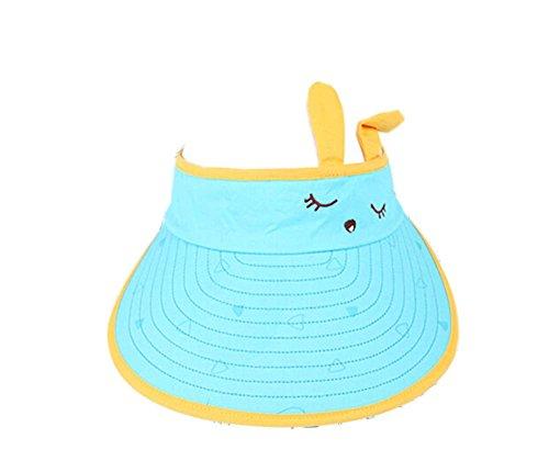 Preisvergleich Produktbild Kinder Sonnenschutz Hut Lovely Eyes Big Cap ohne Top 2-4 Jahre (blau)