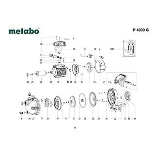 Metabo 343435640Schutzhülle für Pumpe
