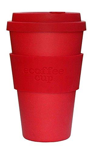 Ecoffee Tasse Rouge/rouge silicone