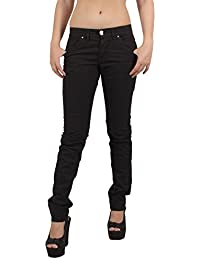 MISS SIXTY Women's Jeans HIGH BINKY TROUSERS Black
