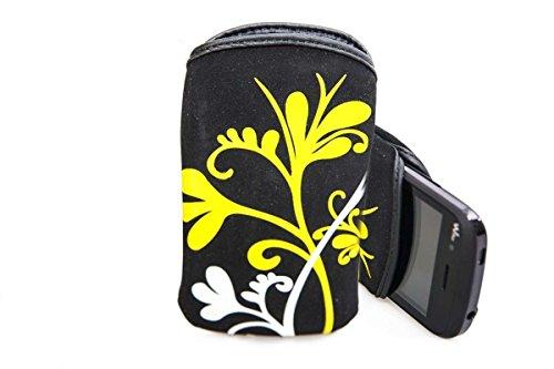 caseroxx Slide-Etui Handy-Tasche für Wiko Ozzy aus Neopren, Handy-Hülle in mehrfarbig