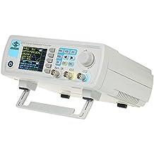 KKmoon Señal Generador Alto Precisión Digital Doble Canal Dds Función Arbitrario Forma De Onda Legumbres Señal Generador 1Hz-100Mhz Frecuencia Metro 200Msa / S 15Mhz