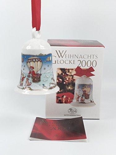 Hutschenreuther Porzellan Weihnachtsglocke 2000 in der Originalverpackung NEU 1.Wahl