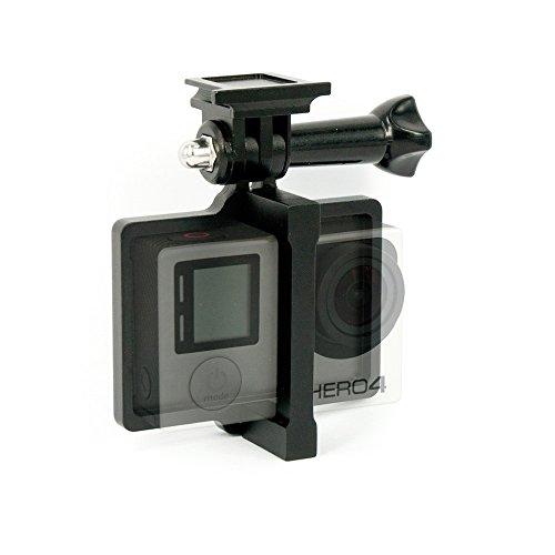 Preisvergleich Produktbild DS24 GoPro 4 Halterung aus Aluminium in schwarz für Syma X8 Modelle - Zubehör