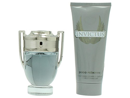 Paco Rabanne INVICTUS Set enthält Eau de Toilette Spray 50 ml und All Over Shampoo, 100 ml
