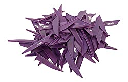 Fletches ,Vanes Pack of 100 Pieces (Purple)