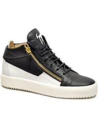 Giuseppe Zanotti Design Sneakers Uomo Ru70000052 Pelle Blu jOl1ZNlOB
