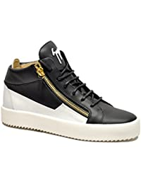 Giuseppe Zanotti Design Sneakers Uomo Ru70000052 Pelle Blu
