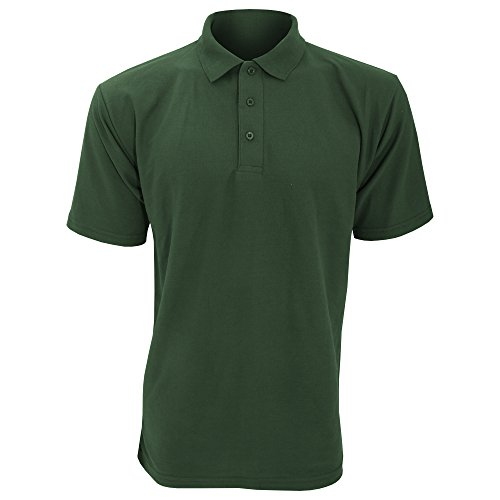UCC 50/50 Pique Polo Shirt für Männer Königsblau