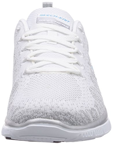 Skechers Flex Appeal Instant Hit Damen Sneakers Weiß (Wsl)