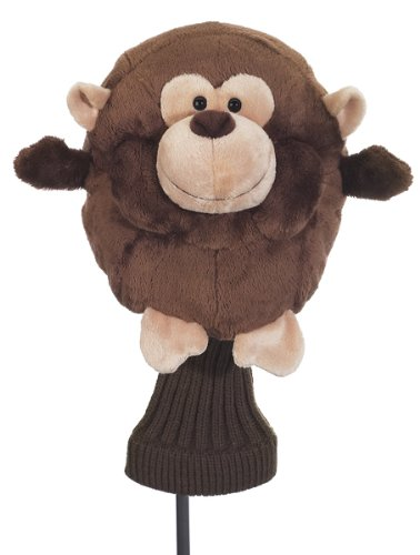 CREATIVE COVERS FOR GOLF CHUBBY CHIPPER MONKEY GOLF CLUB HEAD COVER