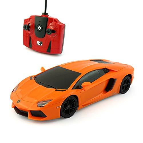 lamborghini-aventador-remote-radio-controlled-model-car-124-scale-in-matt-black-white-and-orange-ora