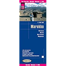 Marruecos, mapa impermeable de carreteras. Escala 1:1.000.000 impermeable. Reise Know-How.