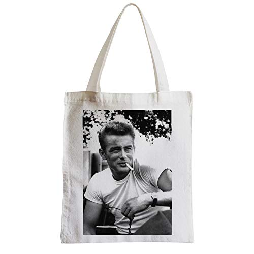 James Dean Schauspieler (fabulous Große Tasche Sack Strand Schüler Foto von Star Berühmte James Dean Schauspieler Altes Kino Original 19)