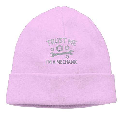Kostüm Ente Beanie Baby - Suxinh Trust Me I'm A Mechanic Unisex Fashion Beanie Knit Hat Cap ColorKey