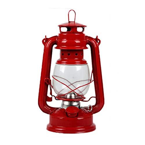 qucaojun Outdoor Camping Dimmable Vintage Eisen Tragbare Campingzelt Öllampe Retro Handwerk Kerosin Lampe Ornamente Wohnkultur