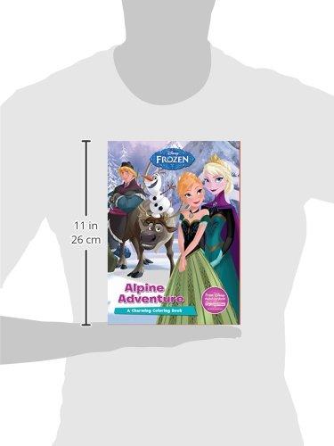 Disney Frozen Alpine Adventures (Disney Frozen: Charming Coloring Book)