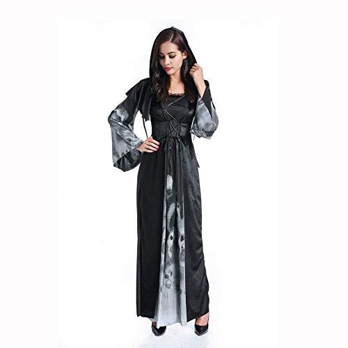 Fashion-Cos1 Gruselige Kostüme Cosplay Spinne Vampir Königin Hexe Kostüm Fantasie Frauen Sexy Fantasien Kostüm (Size : XL)
