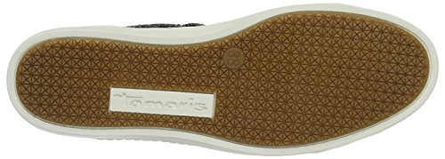 Tamaris Damen 23606 Sneakers Blau (NAVY GLAM COMB 819)